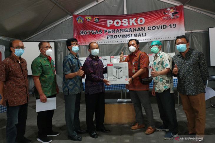 Satgas Bali terima 25 oksigen konsentrator dari Bali Binar Bhakti