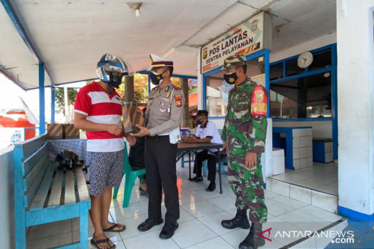 Pelanggar prokes di Rejang Lebong terima sanksi ringan