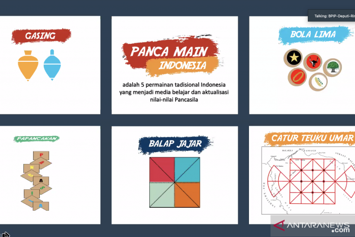 BPIP introduces Pancamain to teachers across Indonesia