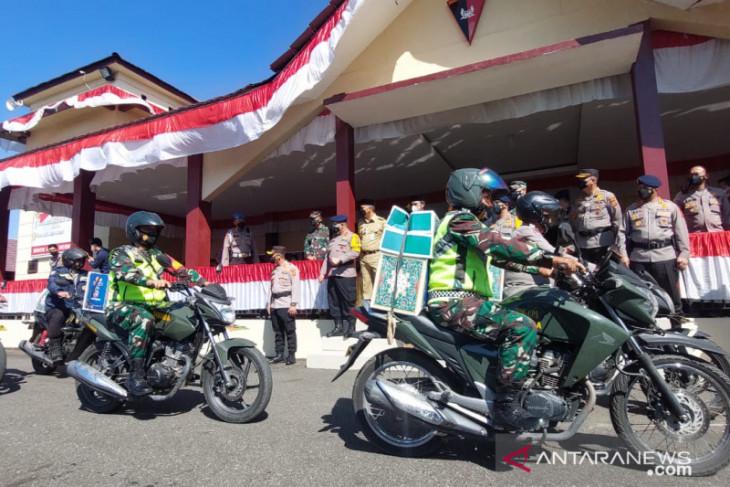 Polda Jambi salurkan  5.700 sembako untuk warga terdampak COVID-19