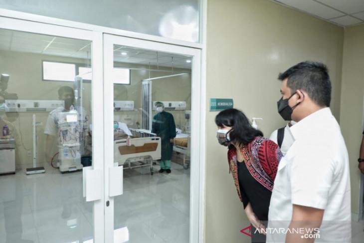 Wali Kota Medan sebut keterisian tempat tidur rumah sakit  dekati 70 persen