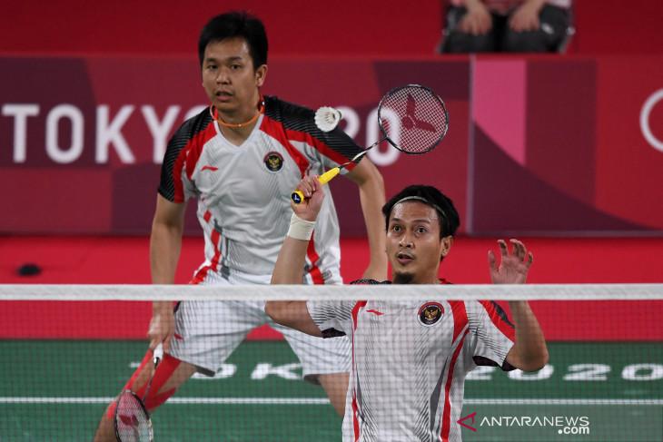 The Daddies singkirkan ganda Jepang di perempat final Tokyo 2020