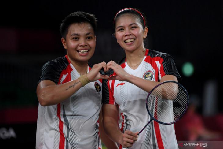 Olimpiade Tokyo: Greysia/Apriyani rebut medali emas