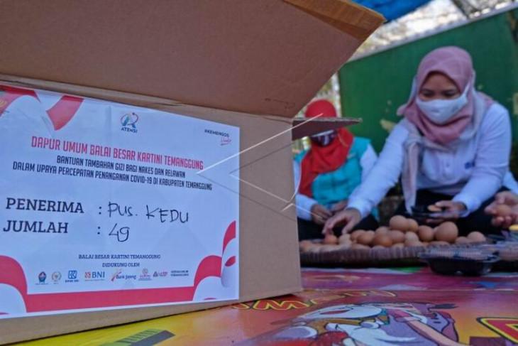 Tambahan gizi untuk tenaga kesehatan dan relawan
