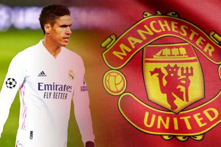 Manchester United beli Varane dengan harga Rp682 miliar