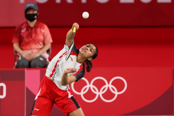 Gregoria lolos ke babak 16 besar  Olimpiade Tokyo