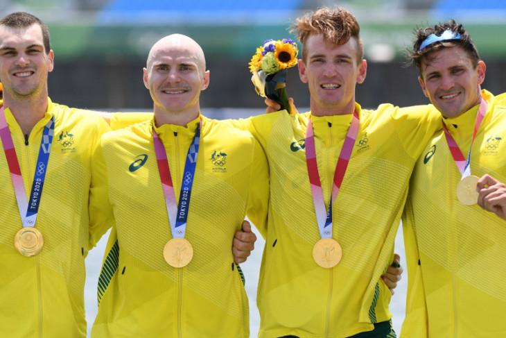 Olimpiade Tokyo, Belanda dan China gondol emas dayung empat putra dan putri