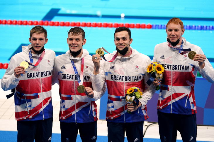 Olimpiade Tokyo 2020: Kuartet Britania rebut emas estafet 2x200m gaya bebas