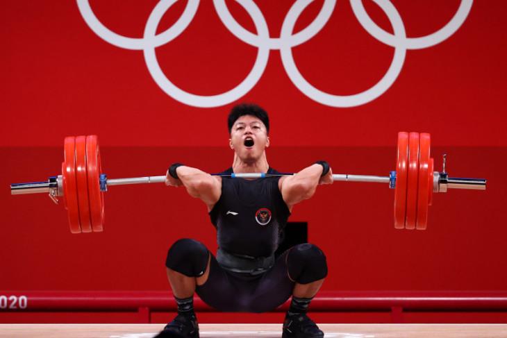 Olimpiade Tokyo, Rahmat Erwin Abdullah catatkan angkatan terbaik di Grup B kelas 73kg