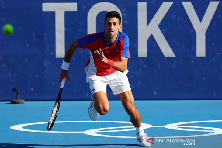 Singkirkan Nishikori, Djokovic melaju ke semifinal Olimpiade