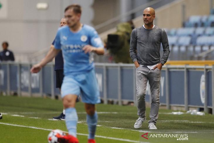 Liga Inggris, Guardiola berharap pemain City bisa langsung berlatih tanpa karantina