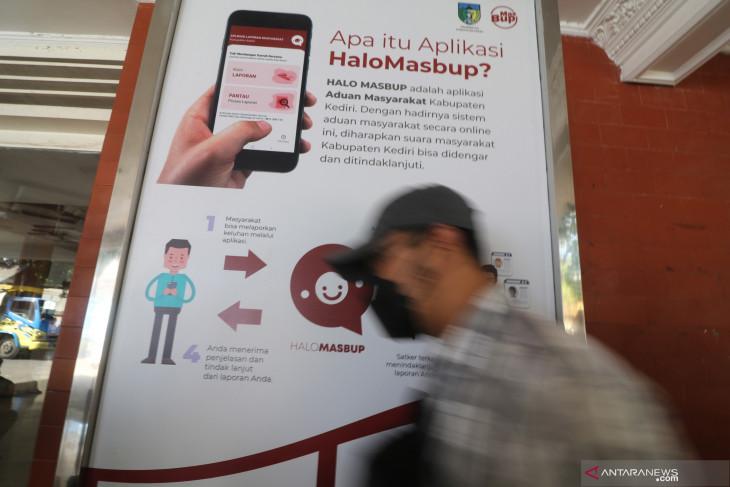 Aplikasi Lapor Masyarakat Kediri