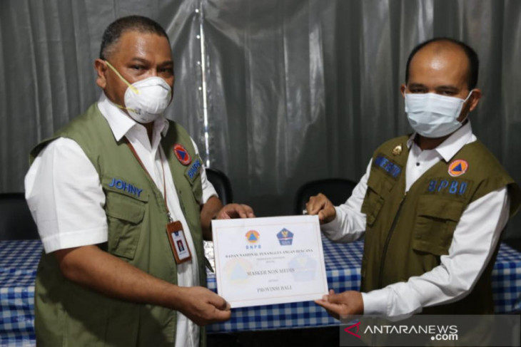 Bali terima 50.000 masker dari BNPB