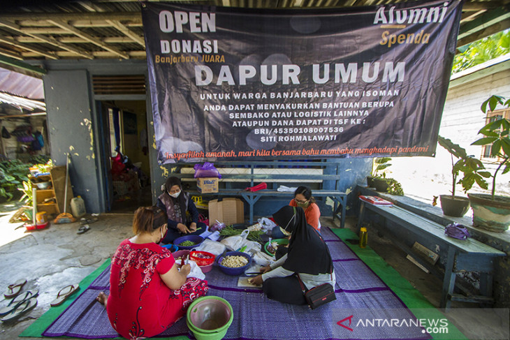 Gerakan Peduli Isolasi Mandiri Di Banjarbaru