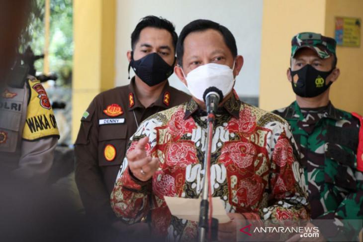Mendagri sebut penurunan kasus di Indramayu bukti keberhasilan PPKM