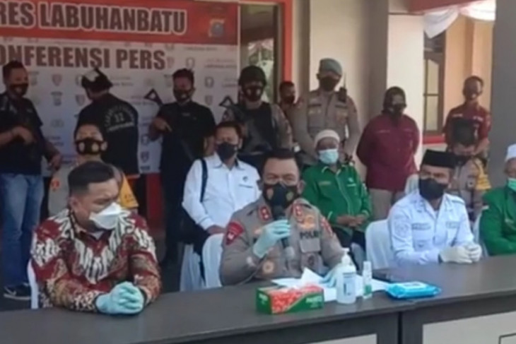 Tersangka pembunuh Ketua MUI Labura terancam hukuman mati