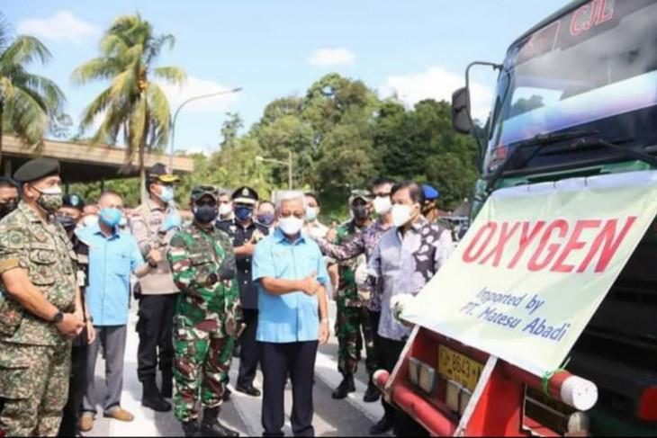 Pangdam XII/Tpr apresiasi pemerintah Malaysia berikan bantuan pasokan oksigen