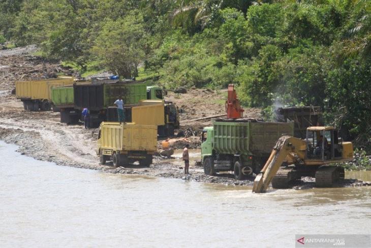 Tidak tanggung-tanggung, kerusakan wilayah DAS di Aceh  capai 264.900 hektare.