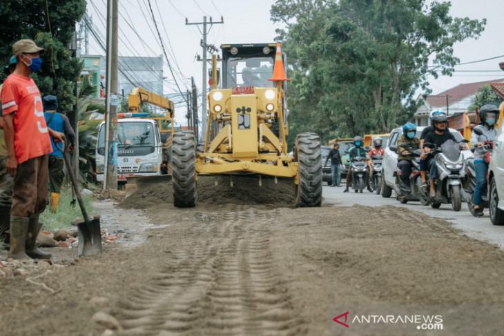 Pemkot Medan anggarkan Rp612 miliar  untuk perbaikan jalan