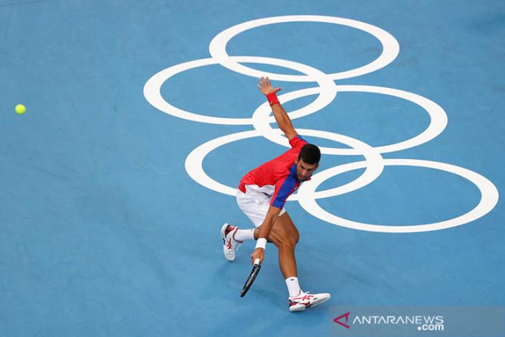 Olimpiade Tokyo, Djokovic lewati Nishikori melaju ke semifinal