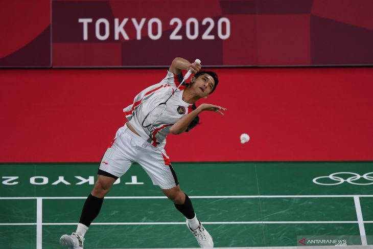 Olimpiade Tokyo, Jonatan susul Ginting ke babak 16 besar