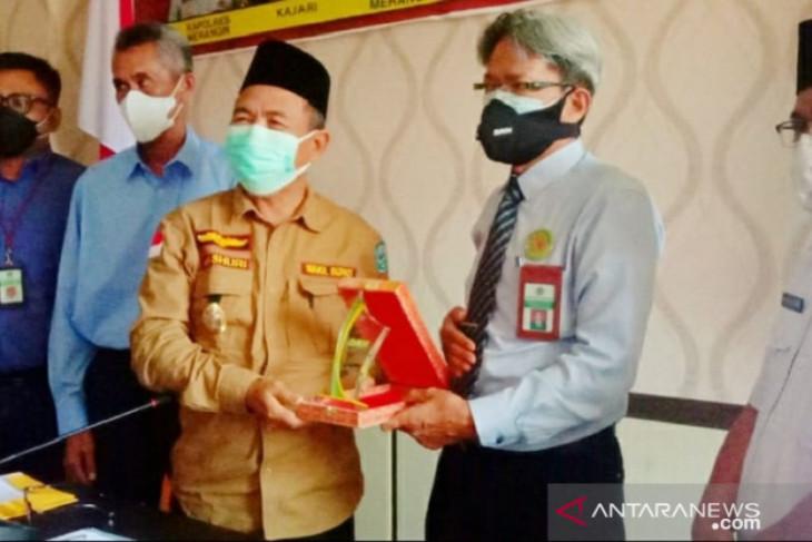 Pemkab Merangin koordinasi dengan  KPKNL Jambi kelola aset daerah