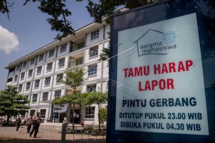 Lokasi isolasi terpusat asrama mahasiswa UNS