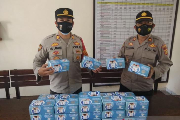 Jajaran Polri bagikan 2.000 masker gratis kepada Warga Tabanan