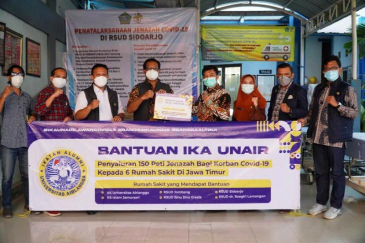 IKA Unair serahkan 150 peti jenazah kepada enam rumah sakit di Jatim