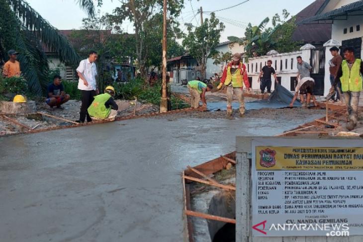 Warga apresiasi pembangunan Gang Fajar di Tanjungbalai