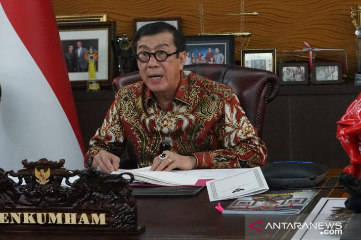 Law Ministry reallocates Rp1.1 trillion for COVID-19 handling