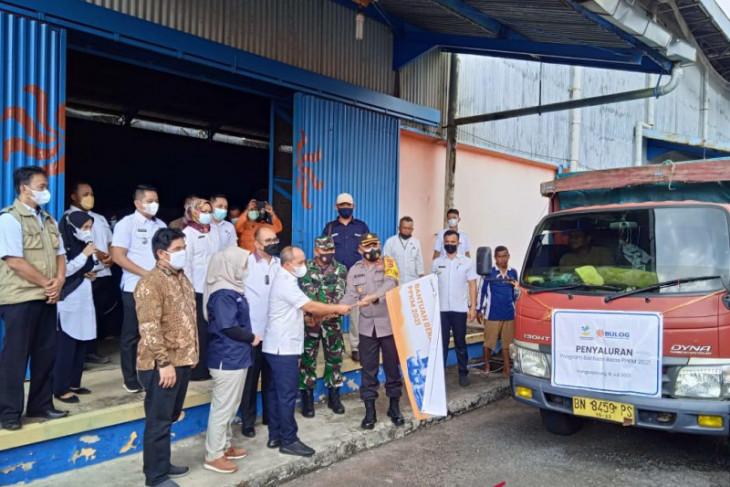 7.826 keluarga di Kota Pangkalpinang terima bantuan beras dari pemerintah