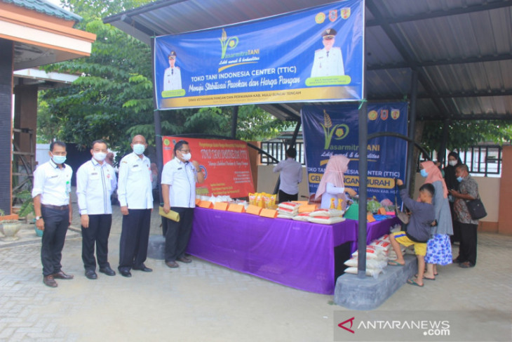 Pasar Mitra Tani sebagai fasilitas distribusi hasil pertanian lokal