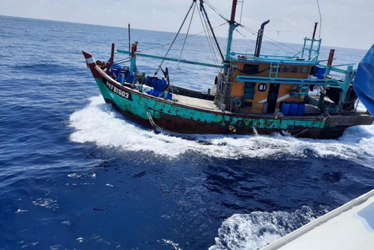 Hingga Juli 2021, KKP tangkap 125 kapal ikan