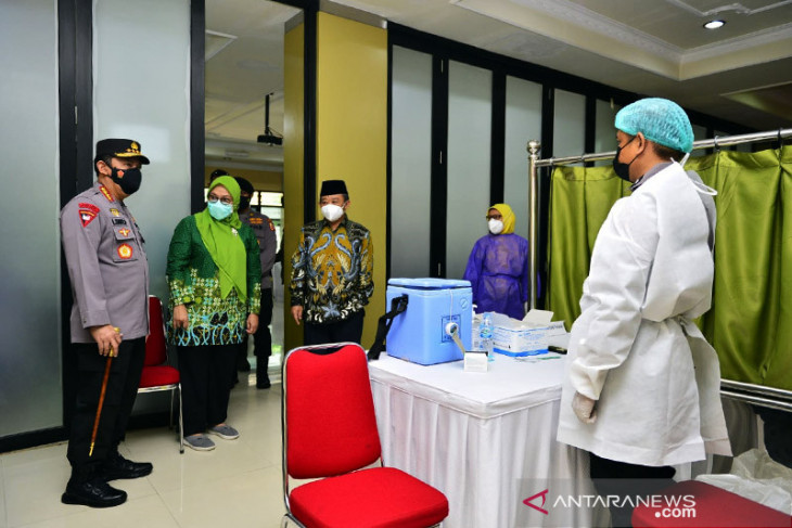 Polri-PP Muhammadiyah kerja sama percepat vaksinasi COVID-19 nasional