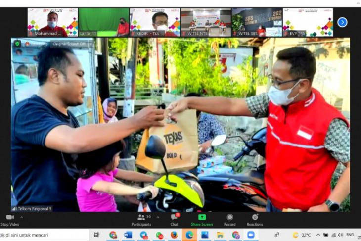 Telkom Jatim Balinus sebar bantuan di enam wilayah