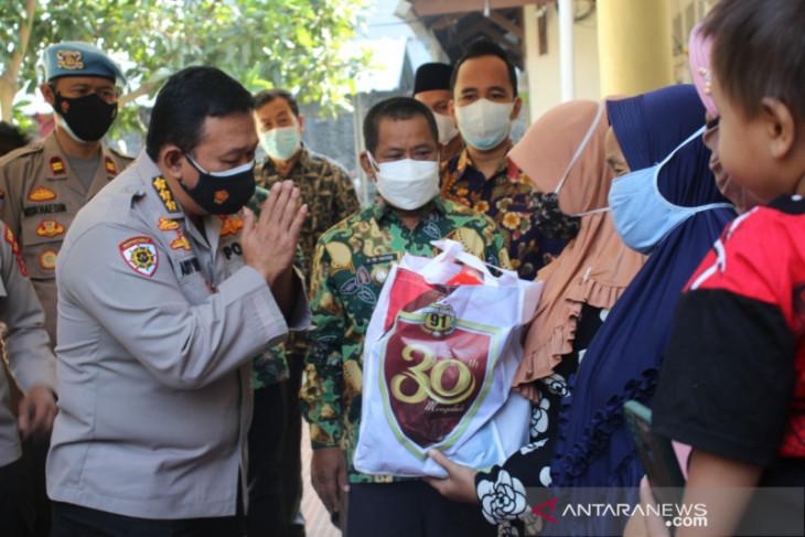 Alumni Akpol 91 gelar vaksinasi dan baksos di Kota Serang