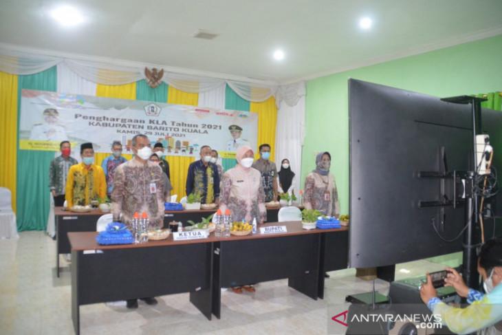 Batola raih penghargaan Kabupaten Layak Anak 2021 dari Kementerian PPPA-RI
