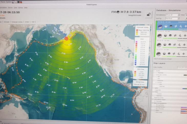 BMKG: Gempa magnitudo 8,1 di Alaska tidak berdampak ke Indonesia
