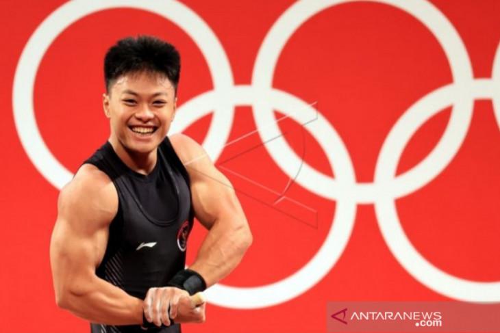 Olimpiade  Tokyo, Wali Kota Makassar beri penghargaan Rahmat peraih perunggu