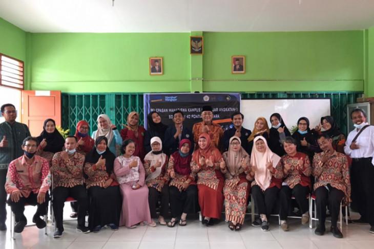 FKIP Untan berikan kontribusi pendidikan melalui Kampus Mengajar