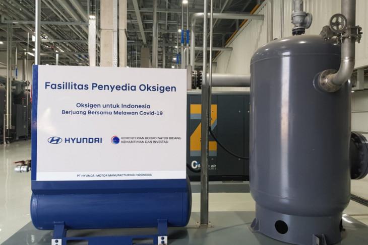 Luhut puji Hyundai bangun fasilitas produksi oksigen di Indonesia