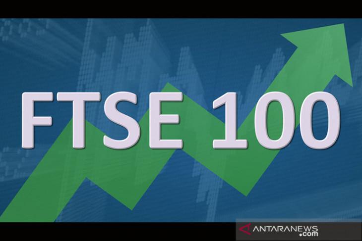 Saham Inggris menguat dengan indeks FTSE 100  terkerek 0,42 persen