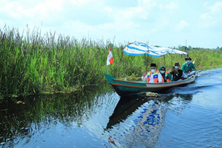 Bupati HSU resmikan Swargaloka, dorong tumbuhnya wisata desa