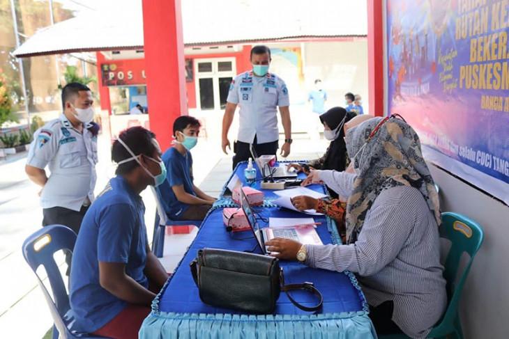 Kemenkumham: 2.800 narapidana di Aceh sudah menerima vaksin COVID-19