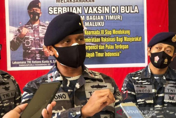 Guspurla Koarmada III gelar serbuan vaksinasi maritim di Maluku begini penjelasannya