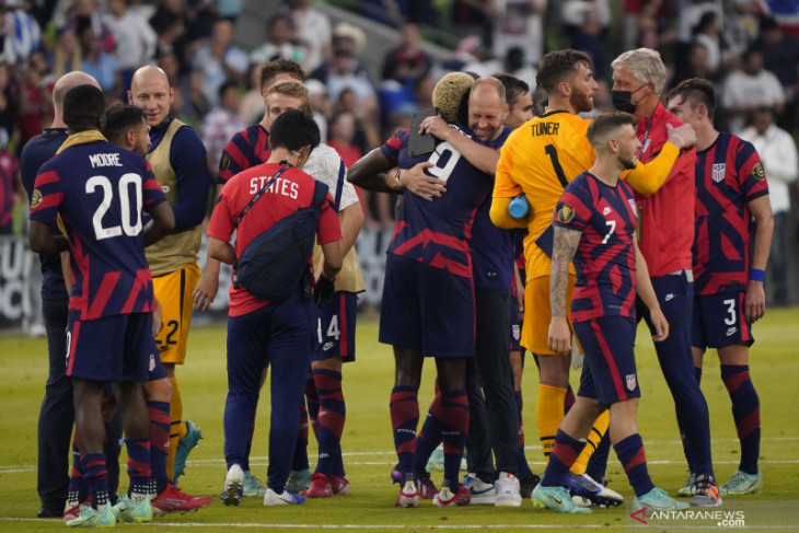 Amerika Serikat lolos ke final Piala Emas Concacaf setelah kalahkan Qatar 1-0
