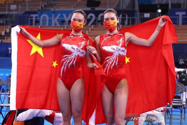 China masih memimpin klasemen perolehan medali Olimpiade Tokyo