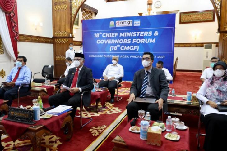 Gubernur Aceh bahas pemulihan ekonomi di tengah pandemi COVID-19