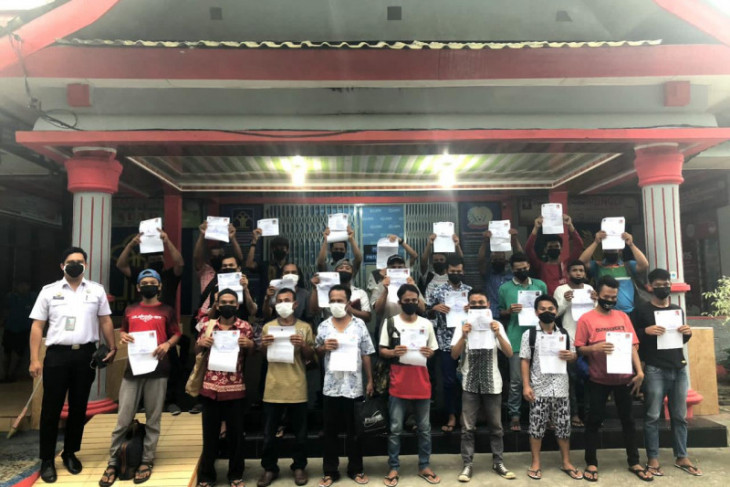 26 warga binaan Lapas Sibolga dapat asimilasi COVID-19